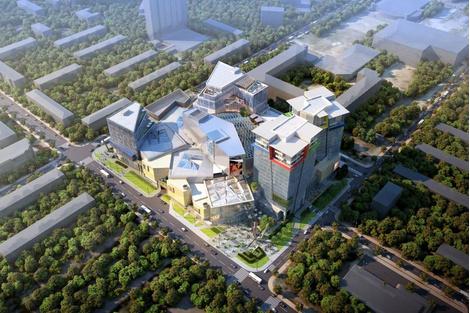 """""""Кунцево Плаза"""" – новый торговый центр по проекту американских архитекторов   галерея [1] фото [3]"""
