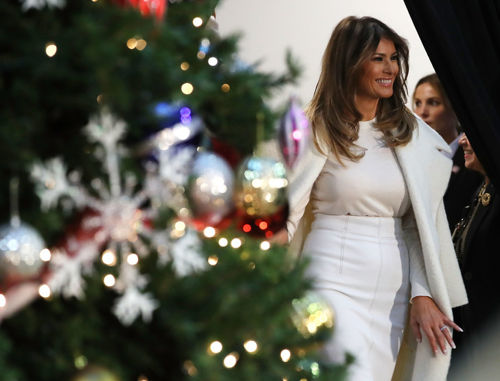 Как Мелания Трамп готовится к Рождеству (фото 1)