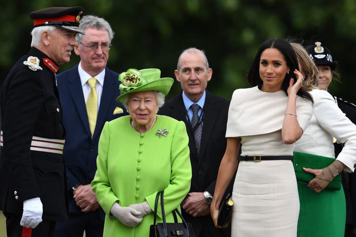 Прощай, королева: лучшие выходы Меган Маркл в качестве члена монаршей семьи (фото 20)