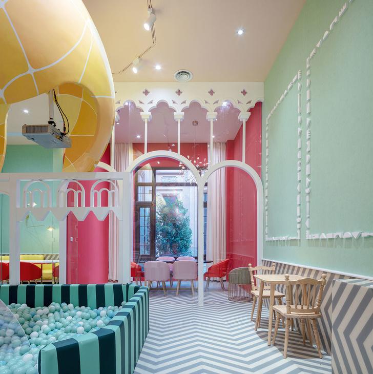Детский ресторан Neobio Kids в Шанхае (фото 6)