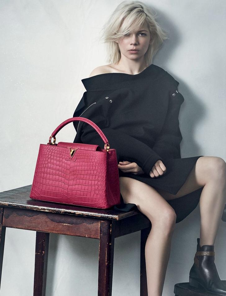 Мишель Уильямс рекламирует Louis Vuitton
