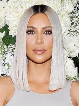Ким Кардашьян сменила имидж: звезда реалити сделала удлиненный боб (фото 3)