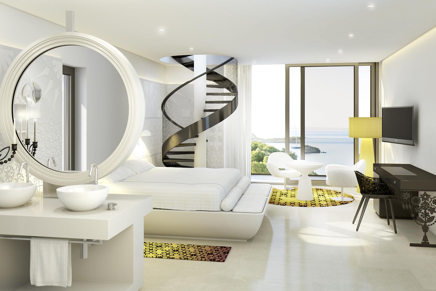 Марсель Вандерс оформил пятизвездочный отель на Майорке   галерея [1] фото [15]