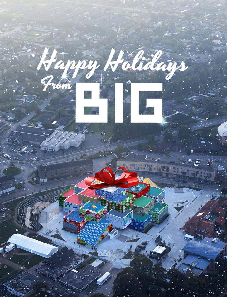 Рождественские открытки от дизайнеров и архитекторов (фото 0)