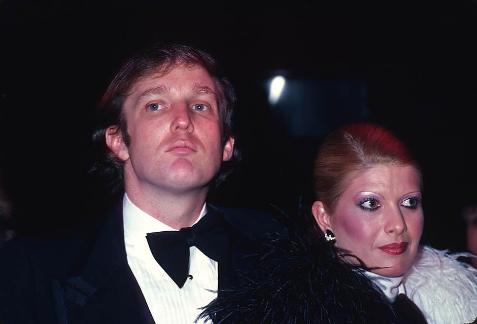 фото трамп в молодости