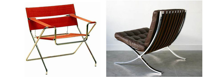 Х-файл: история мебели со скрещенными ножками фото [8]