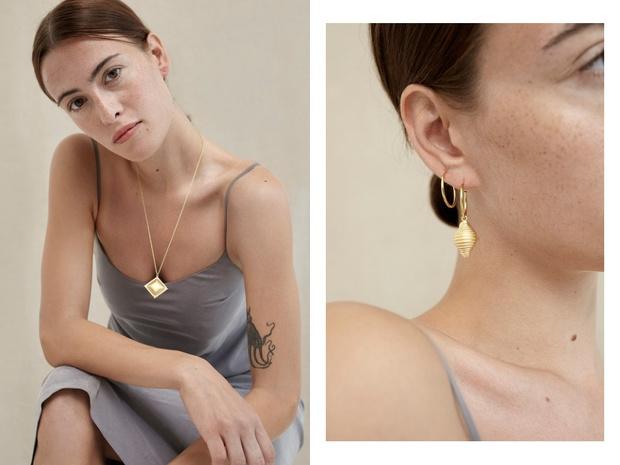 Микро-тренд: ювелирные украшения Trine Tuxen x LuisaViaRoma для любителей пасты (фото 3)
