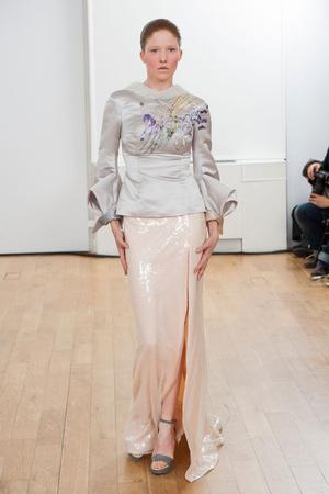 Показ Julien Fournie коллекции сезона Весна-лето 2014 года Haute couture - www.elle.ru - Подиум - фото 574967