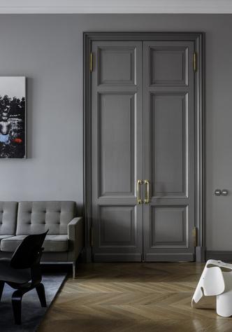 Квартира 90 кв.м в Нащокинском переулке: проект Ольги Колесик (фото 2)