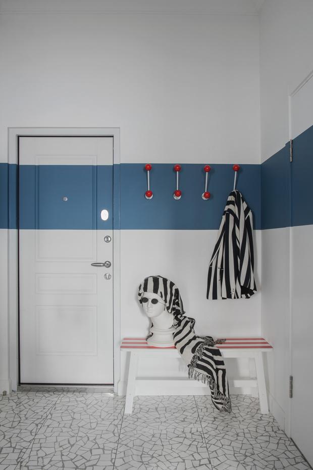 Color blocking: квартира 46 м² под сдачу (фото 6)