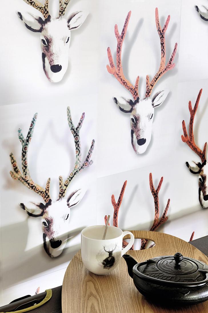 """Настенное покрытие """"Rudolf"""", коллекция """"Wonderland"""", Elitis"""