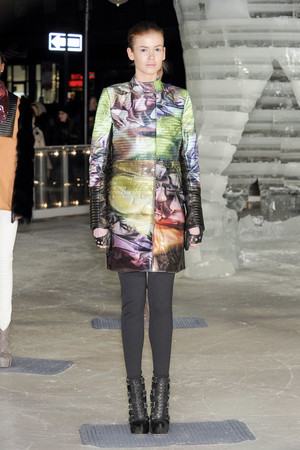 Показ Elise Overland коллекции сезона Осень-зима 2011-2012 года prêt-à-porter - www.elle.ru - Подиум - фото 226778