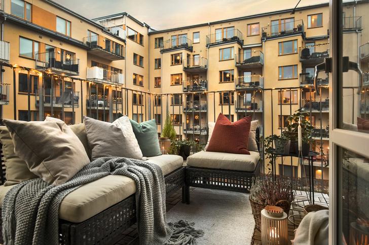 Светлая квартира 62 м² в Стокгольме (фото 12)