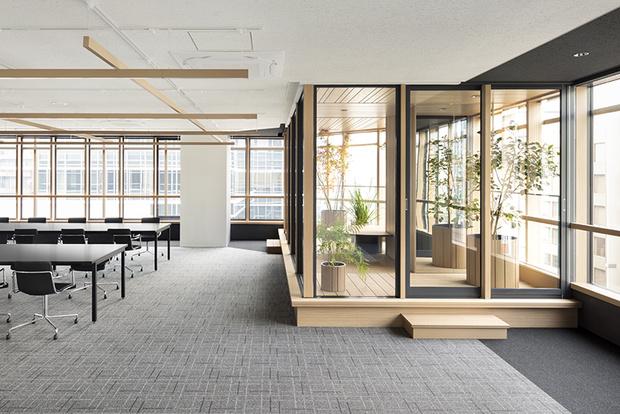 Nendo + Ikawaya Architects: офисное здание в Токио (фото 8)