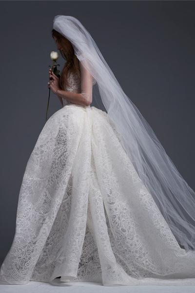 Самые пышные свадебные платья 2017