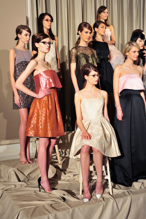 Показы мод Erin Fetherston Осень-зима 2014-2015 | Подиум на ELLE - Подиум - фото 3808
