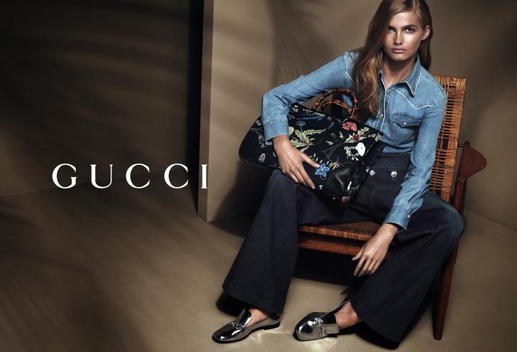 Рекламная кампания круизной коллекции Gucci 2015