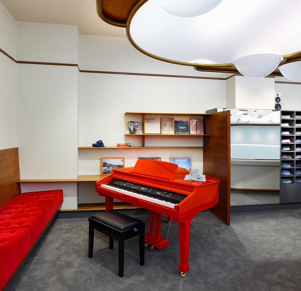 Мода и архитектура: бутик Isaia в здании Фрэнка Ллойда Райта (галерея 4, фото 1)
