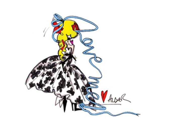Свадебное платье Леди Гага от Lanvin