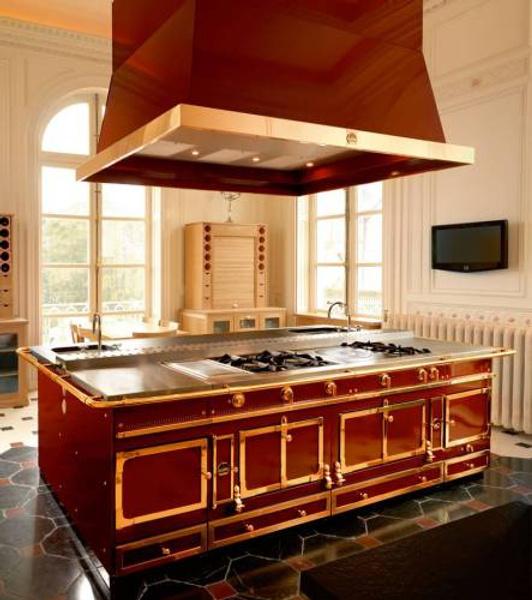 Обитаемый остров: кухни La Cornue   галерея [1] фото [1]