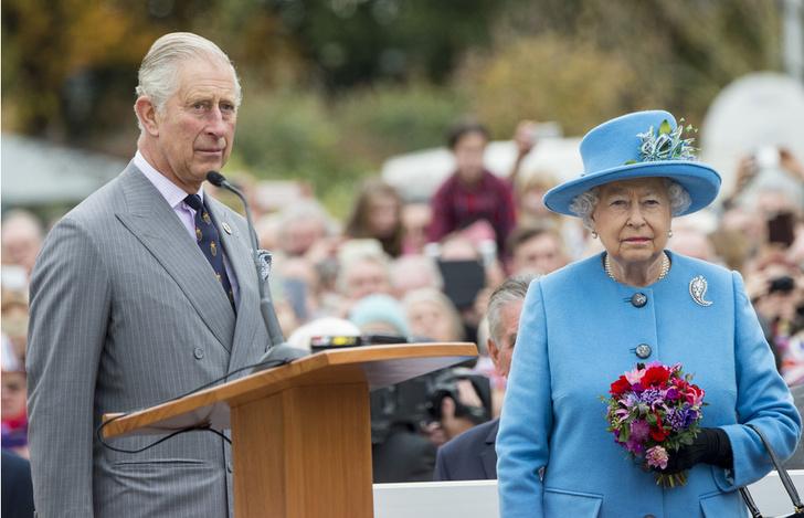 Чарльз и Елизавета II