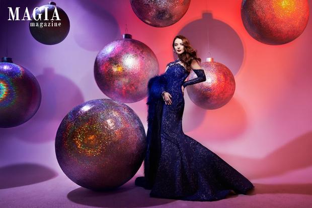 Актриса Марина Александрова в съемке для Magia di Gamma 2