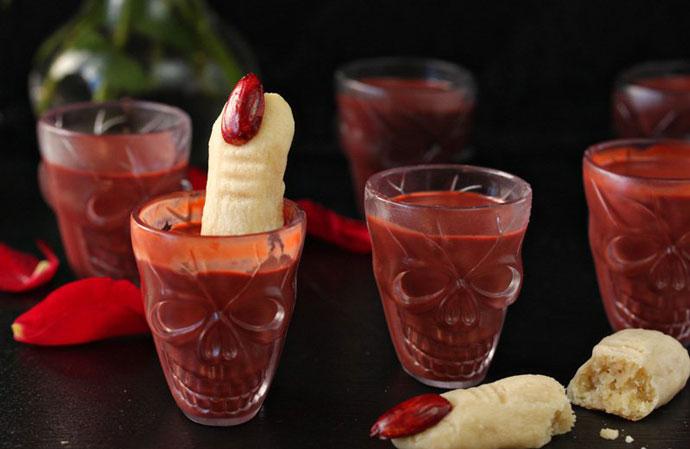 «Ведьмин палец с кровью»