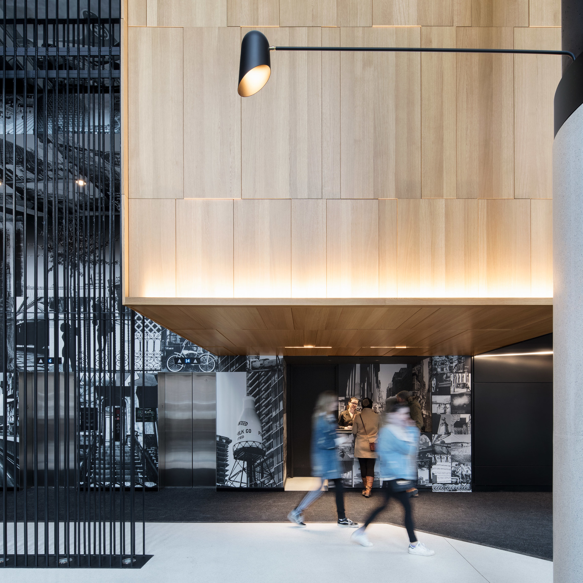 Montreal's Hotel Monville by ACDF Architecture features strict palette (галерея 7, фото 3)
