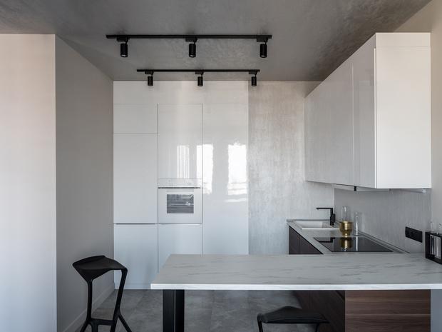 Квартира 65 м² в Москве: современный комфорт с элементами лофта (фото 11)