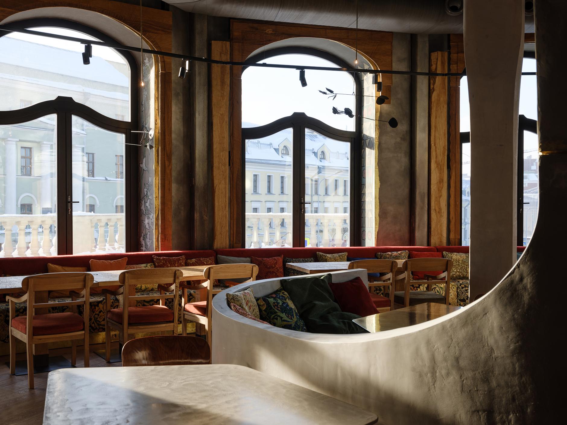 Ресторан «Горыныч»: проект Натальи Белоноговой (галерея 13, фото 2)