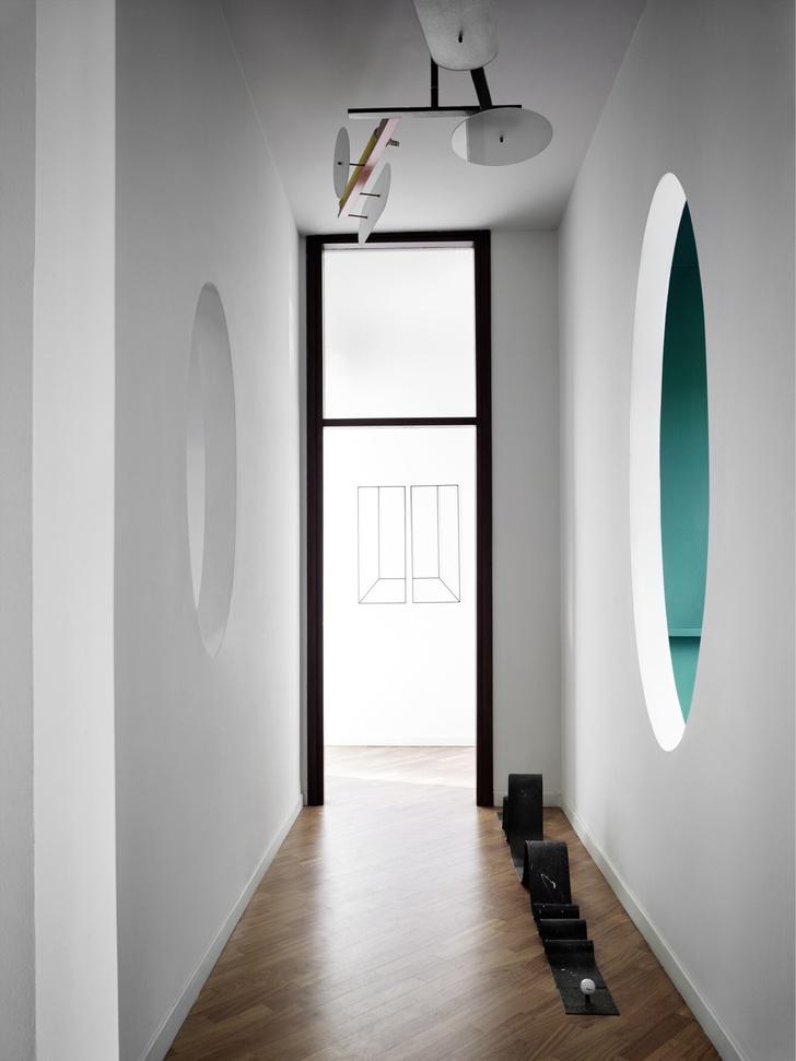 Миланская квартира в зеленых тонах (фото 12)