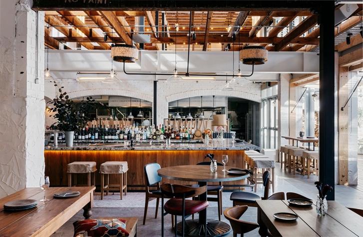 Ретро-шик: ресторан в Сиднее (фото 0)