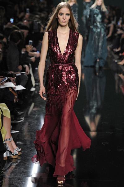 15 лучших красных платьев из осенне-зимних коллекций | галерея [1] фото [6]