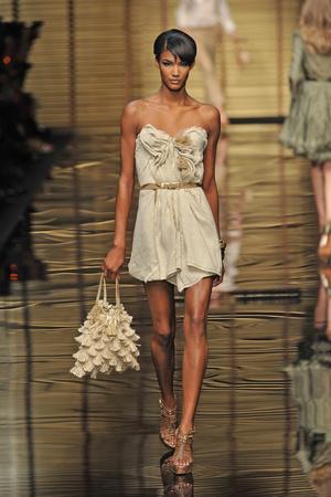 Показы мод Ermanno Scervino Весна-лето 2009 | Подиум на ELLE - Подиум - фото 3357