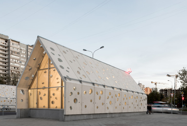 Пусть всегда будет солнце! Станция метро «Солнцево» по проекту Nefa Architects (фото 5)
