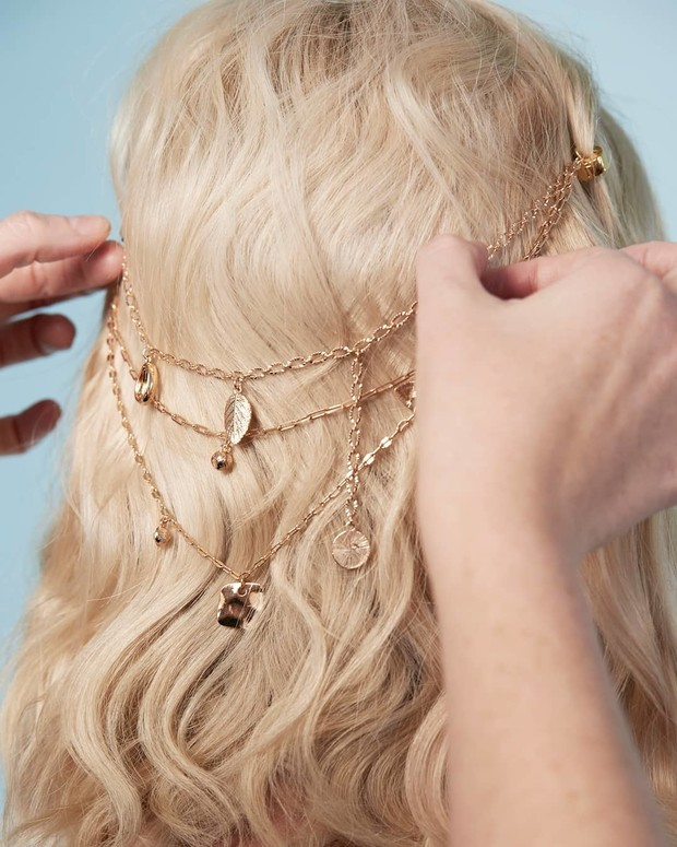 Микротренд: украшения для волос (фото 13)