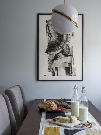 Дитя заката: фламинго и другие яркие  решения в типовой квартире 55 м² (фото 5.1)