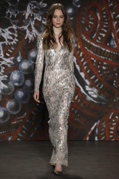 Самые роскошные вечерние платья Недели моды в Нью-Йорке | галерея [2] фото [3]