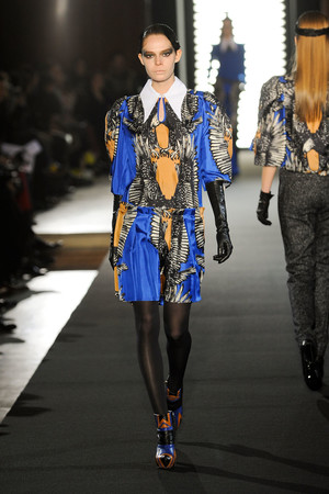 Показы мод Jean-Charles de Castelbajac Осень-зима 2012-2013 | Подиум на ELLE - Подиум - фото 1401