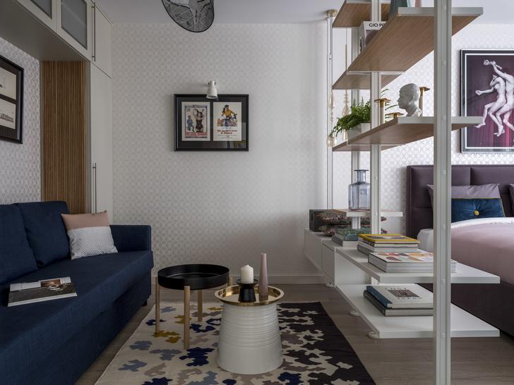 Маленькая спальня: 7 практичных решений (фото 26)