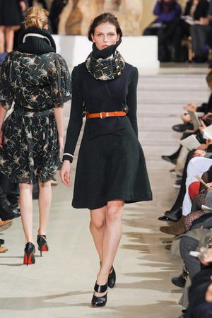 Показ Bouchra Jarrar коллекции сезона Весна-лето 2012 года Haute couture - www.elle.ru - Подиум - фото 330136