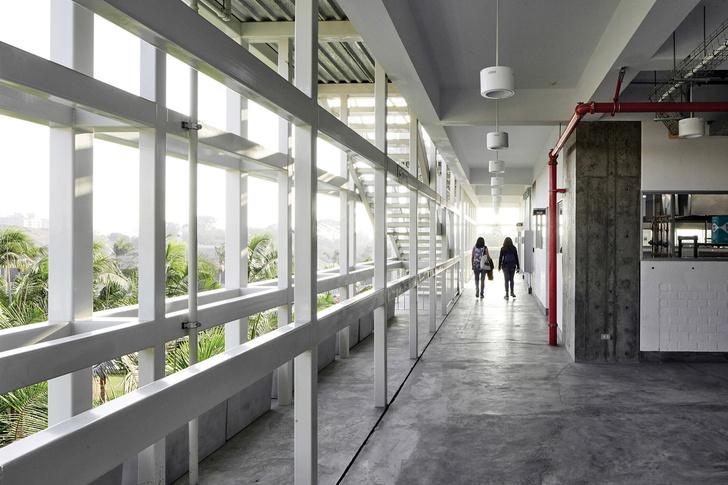 Кулинарная школа в Перу в индустриальном стиле (фото 10)