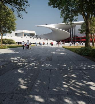 Проект Шанхайской оперы от студии Snøhetta (фото 5.2)