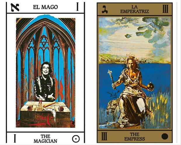 Нашему времени нужна магия: удивительная история создания колоды карт Таро, нарисованной Сальвадором Дали (фото 3)