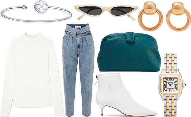 Уроки стритстайла: весенние образы в джинсах-варенках (фото 7)