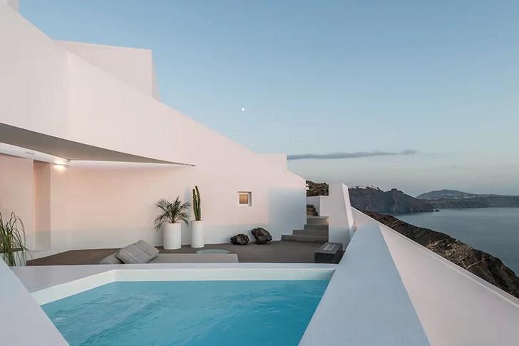 Saint Hotel на острове Санторини по проекту Kapsimalis Architects (фото 12)