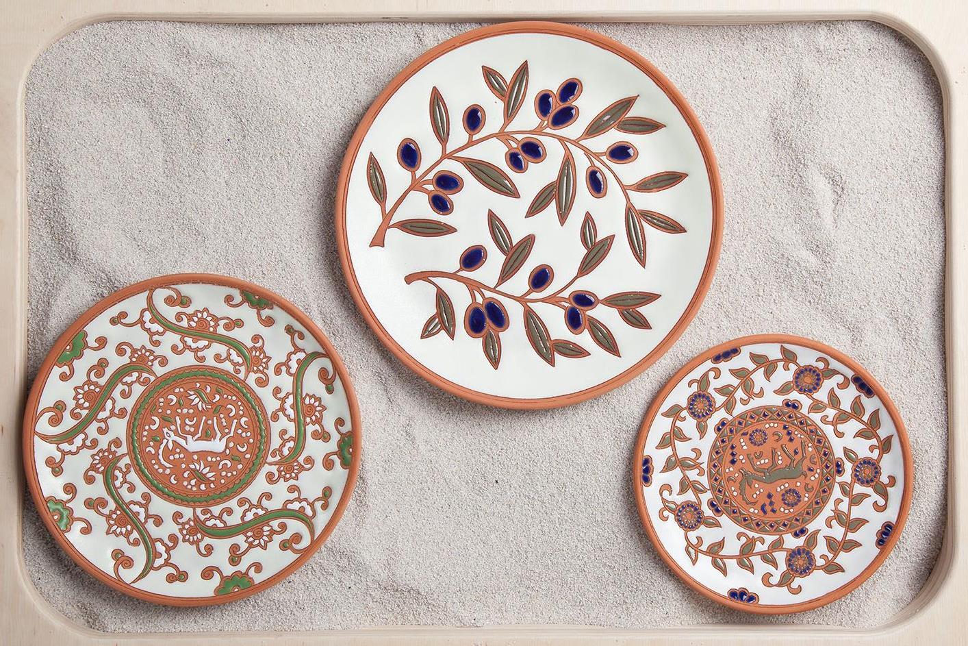 Греческая керамика Bonis Ceramics пришла в Москву | галерея [1] фото [1]