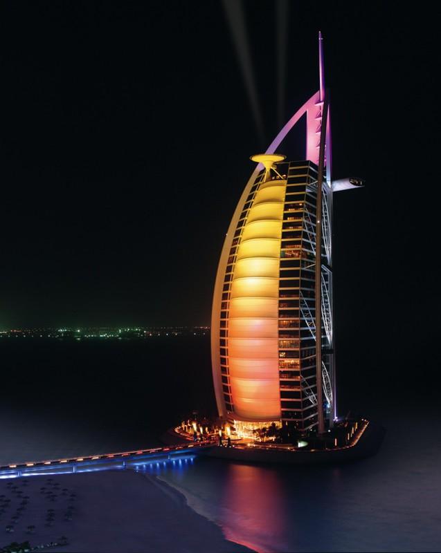 Burj Al Arab Самый лучший отель в Дубае