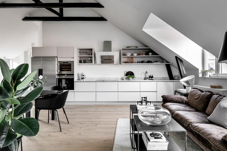 Под крышей дома: квартира модного блогера в Стокгольме (фото 5)