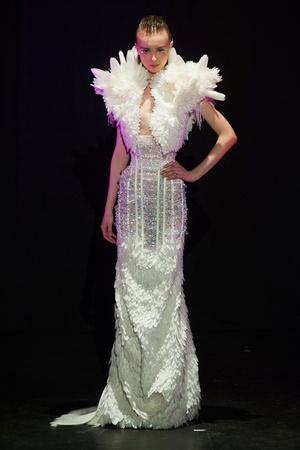 Показы мод Serkan Cura Весна-лето 2014 | Подиум на ELLE - Подиум - фото 3787